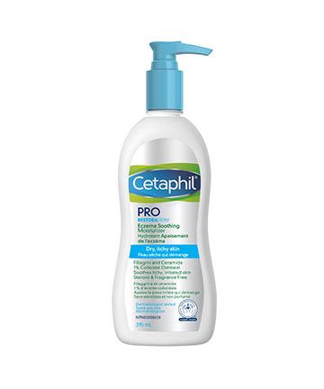 Cetaphil<sup>®</sup> PRO RESTORADERM Eczema Soothing Moisturizer