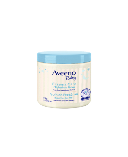 Aveeno Baby<sup>®</sup> Eczema Care Nighttime Balm