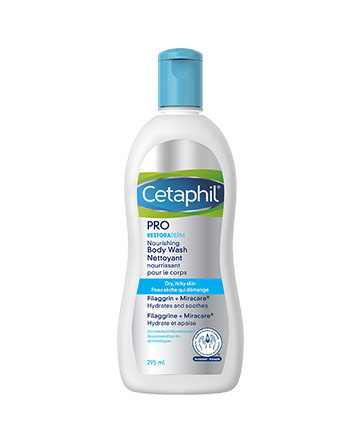 Cetaphil<sup>®</sup> PRO RESTORADERM Nourishing Body Wash