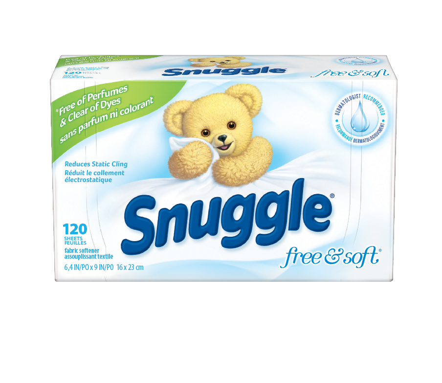 Snuggle® Free & Soft™ Fabric Softener Sheets
