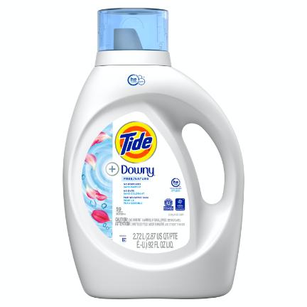 Tide® + Downy® Free & Gentle™ Liquid Laundry Detergent