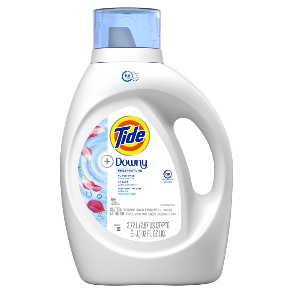 Tide® + Downy® Free & Gentle™ Liquid Laundry Detergent