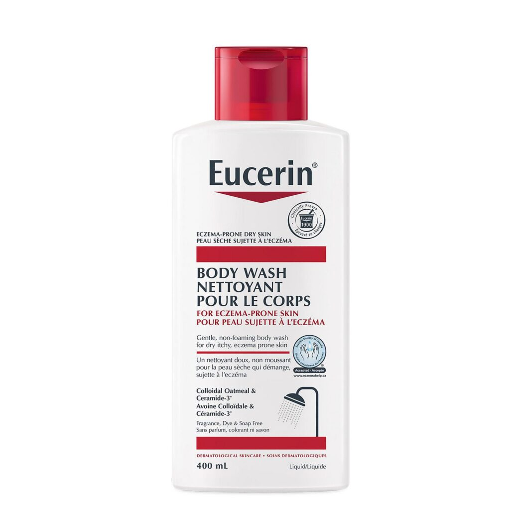 Eucerin<sup>®</sup> Body Wash for Eczema-prone Skin